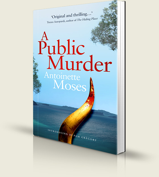 A Public Murder Book by Antoinette Moses