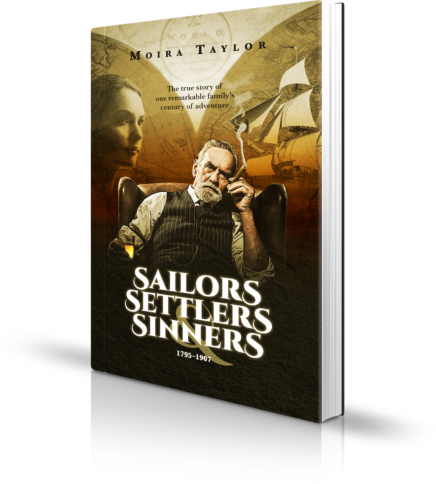 Sailors Settlers & Sinners Book By Moira Taylor