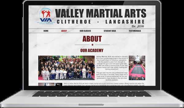 Rain Valley Martial Arts Website